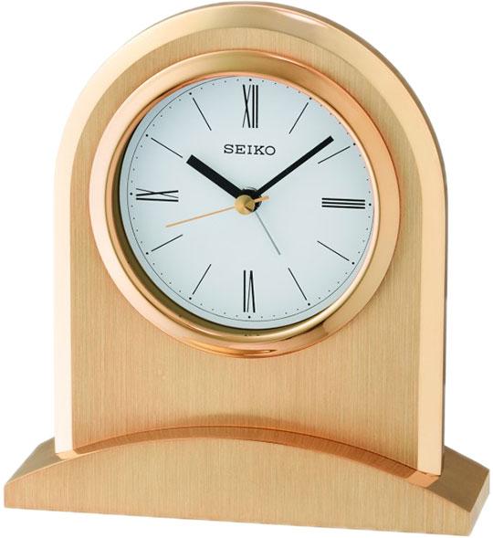 Настольные часы Seiko QHE163G будильник кварцевый mikhail moskvin цвет золотой 2816 5