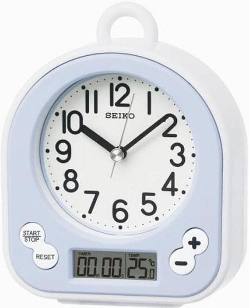 Настольные часы Seiko QHG042L будильник кварцевый mikhail moskvin цвет золотой 2816 5
