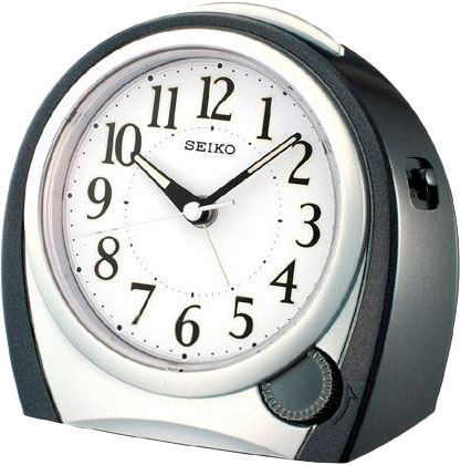 Настольные часы Seiko QHK009K будильник кварцевый mikhail moskvin цвет золотой 2816 5