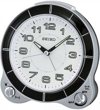 Настольные часы Seiko QHK031S будильник кварцевый mikhail moskvin цвет золотой 2816 5