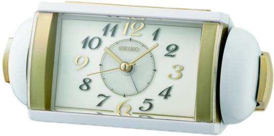 Настольные часы Seiko QHK047W будильник кварцевый mikhail moskvin цвет золотой 2816 5
