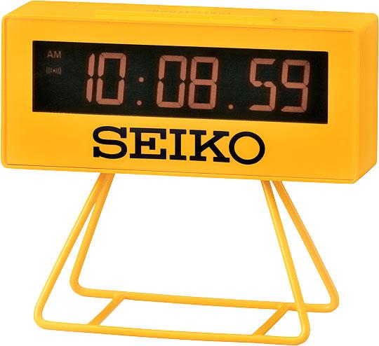 Настольные часы Seiko QHL062Y будильник кварцевый mikhail moskvin цвет синий 2815 2