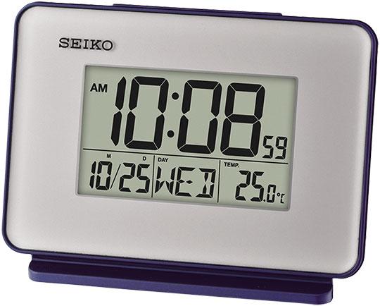 Настольные часы Seiko QHL068L будильник кварцевый mikhail moskvin цвет золотой 2816 5