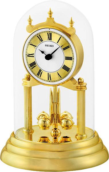 Настольные часы Seiko QHN006G часы настольные слон 12 5 16см уп 1 60шт