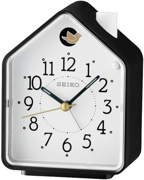 Настольные часы Seiko QHP002K будильник кварцевый mikhail moskvin цвет золотой 2816 5