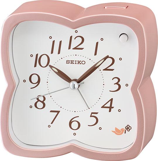 Настольные часы Seiko QHP009P будильник кварцевый mikhail moskvin цвет золотой 2816 5