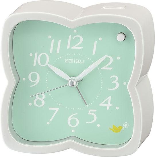 Настольные часы Seiko QHP009W будильник кварцевый mikhail moskvin цвет золотой 2816 5