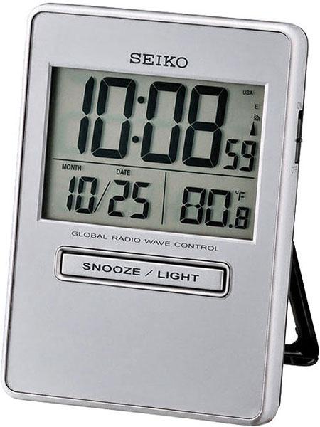 Настольные часы Seiko QHR023S часы настольные мотоцикл с термометром 295х220мм