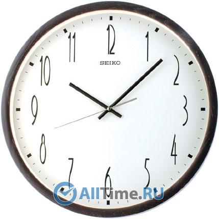 Деревянные настенные часы Seiko QXA386BN