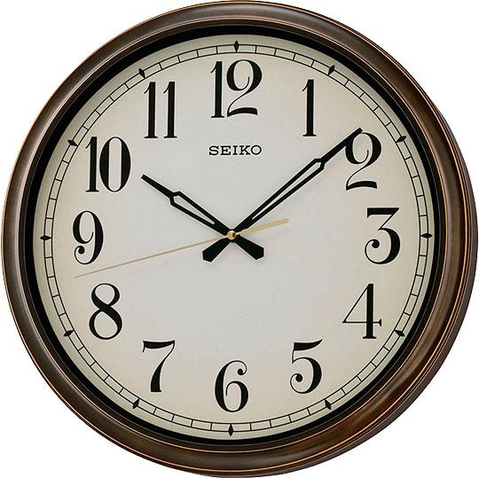 Настенные часы Seiko QXA548B водонепроницаемые часы купить в спб