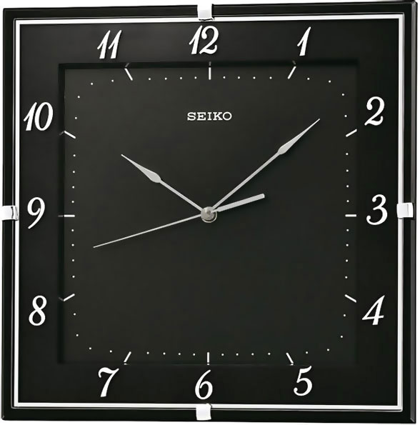 Настенные часы Seiko QXA549K 21 30см картина с пластик рамкой ассорти