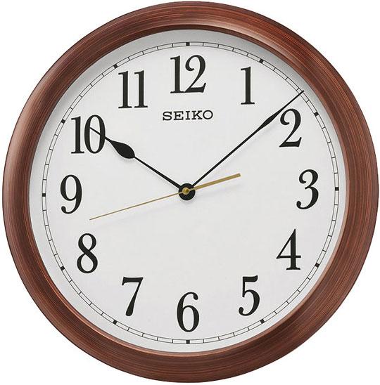 Настенные часы Seiko QXA598B ключница декоративная с часами весна 33 21 8см часы 11 5 16 5см батарейка 1aa мдф белая