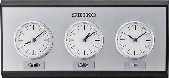 Фото «Деревянные настенные часы Seiko QXA623K»