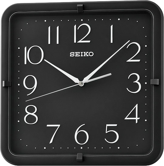 Настенные часы Seiko QXA653K подъюбник accessories трехслойный черный 28см