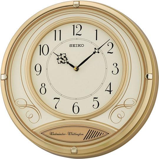 Настенные часы Seiko QXD213G настенные часы весна счк 213