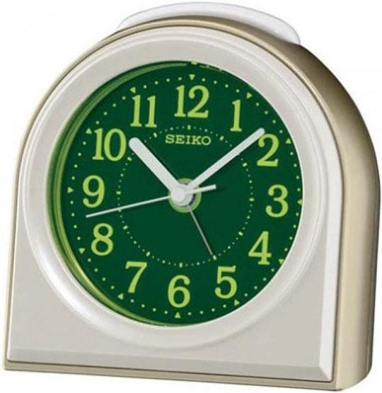 Настольные часы Seiko QXE038G будильник кварцевый mikhail moskvin цвет золотой 2816 5