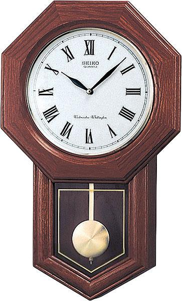 Купить со скидкой Настенные часы Seiko QXH102B