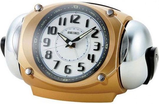 Настольные часы Seiko QXK110G будильник кварцевый mikhail moskvin цвет золотой 2816 5