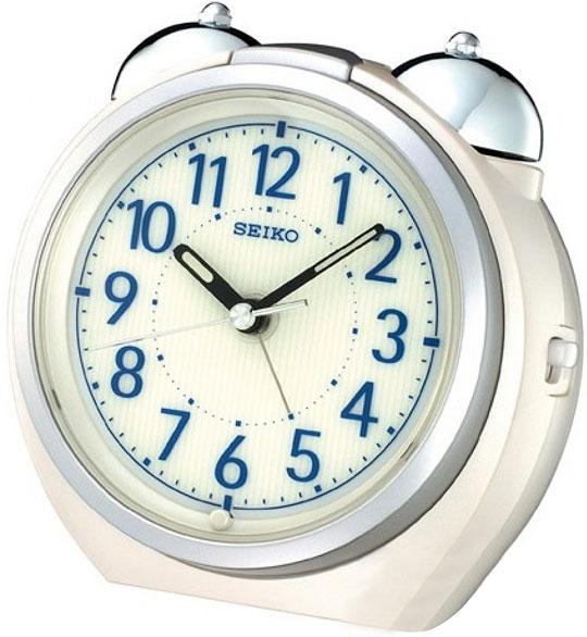 Настольные часы Seiko QXK118W будильник кварцевый mikhail moskvin цвет золотой 2816 5