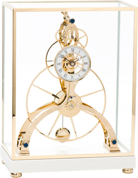 Sinclair Harding Great-Wheel-Skeleton-Clock-Gold