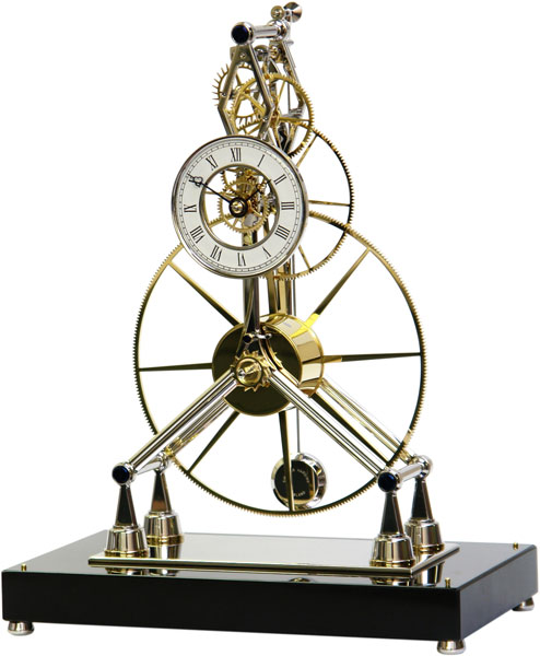 Sinclair Harding Great-Wheel-Skeleton-Clock-Rhodium