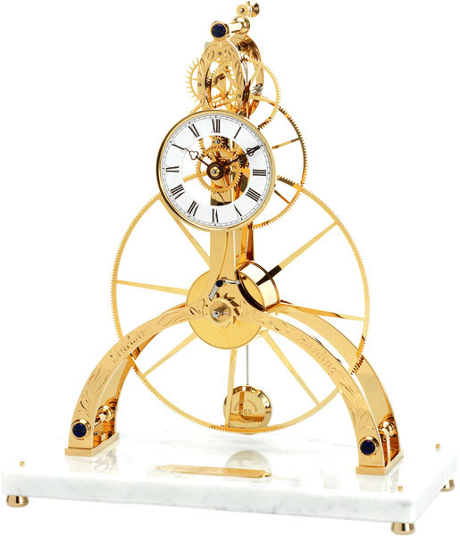 Sinclair Harding Great-Wheel-Skeleton-Clock