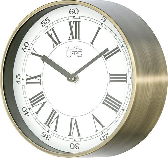 Фото - Настенные часы Tomas Stern 4015AG_TS cветильник галогенный de fran встраиваемый 1х50вт mr16 ip20 зел античное золото
