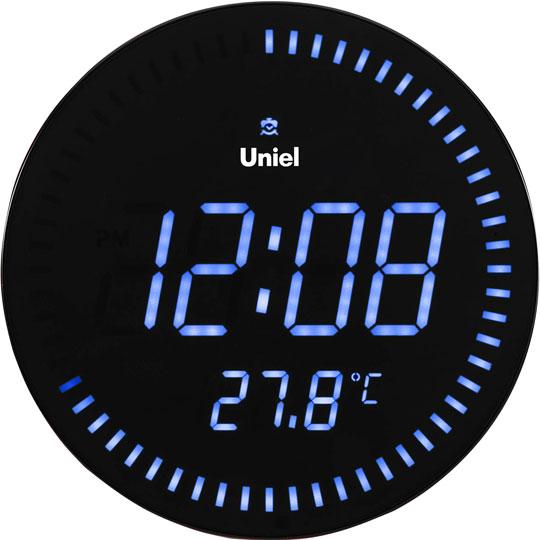 Настенные часы Uniel BV-10B метеостанция uniel bv 68bxx