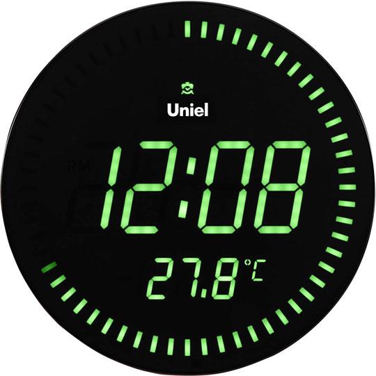 Настенные часы Uniel BV-10G метеостанция uniel bv 68bxx