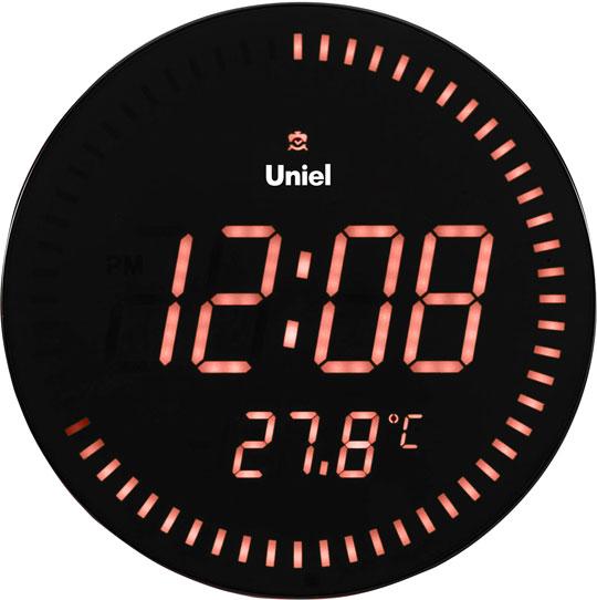 Настенные часы Uniel BV-10R метеостанция uniel bv 68bxx