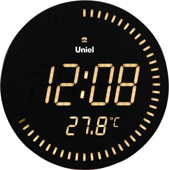 Настенные часы Uniel BV-10Y метеостанция uniel bv 68bxx