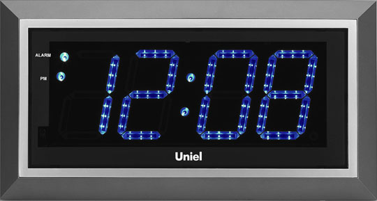 Настенные часы Uniel BV-11BSL метеостанция uniel bv 68bxx