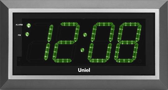 цена Настенные часы Uniel BV-11GSL
