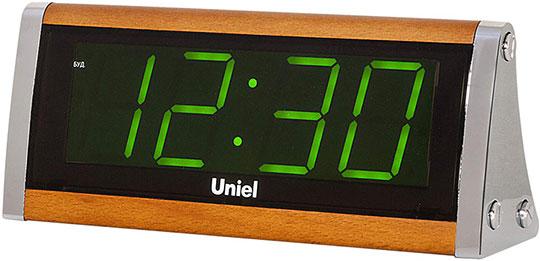 Настольные часы Uniel UTL-12GBr настольные часы uniel bv 475r