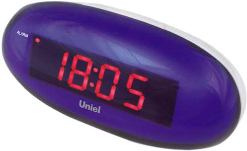 Настольные часы Uniel UTL-15RWx часы настольные let us dance 15 15см 1012598