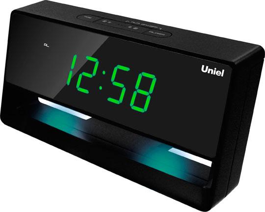 Настольные часы Uniel UTL-45G цена и фото