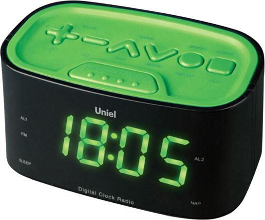 Настольные часы Uniel UTR-33GGK настольные часы uniel utr 25wsu