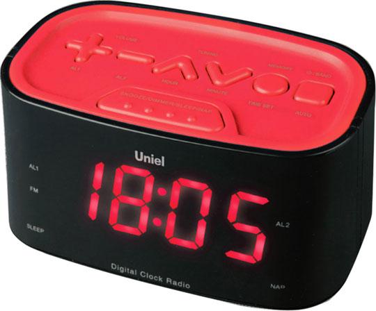 Настольные часы Uniel UTR-33RRK