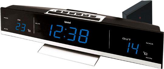 Настольные часы Uniel UTV-41B uniel utv 41b