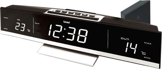Настольные часы Uniel UTV-41W датчик uniel utv 63