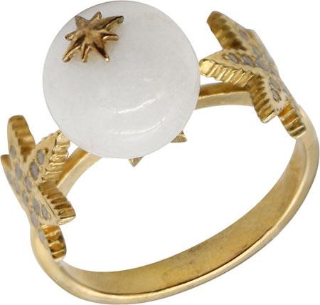 Кольца aka.Hooliganka 1009.21_aka кольцо с 81 фианитами из серебра 925 пробы