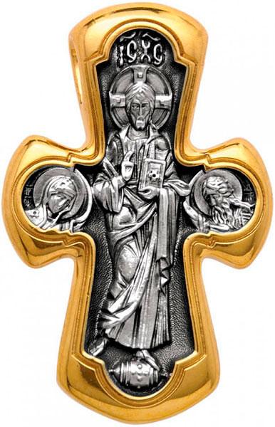 Крестики и иконки Акимов 101.019 крест нательный