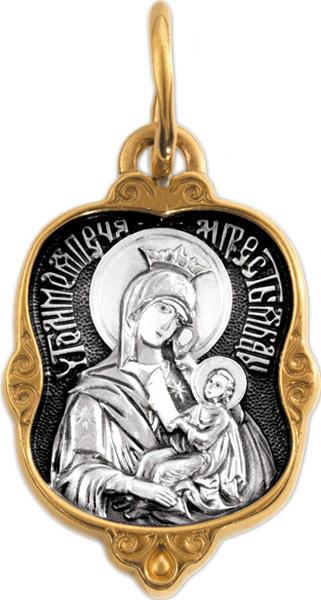 Крестики и иконки Акимов 102.207 икона янтарная утоли мои печали кян 2 210