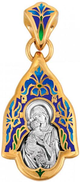 Крестики и иконки Акимов 103.223 икона владимирская божией матери 22см 886527