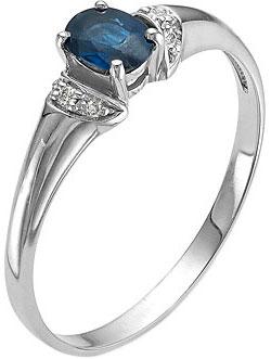 Кольца Алькор 01-0266/0GTS-00 ювелирные кольца karmonia авторское серебряное кольцо с камнями рубин сапфир