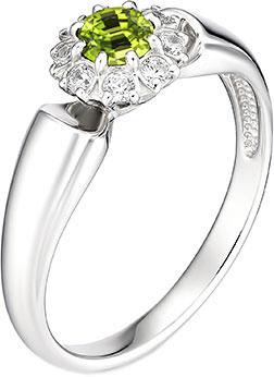 Кольца Алькор 01-0888/00HR-00 женские кольца магия золота женское серебряное кольцо с куб циркониями mg99893z 18