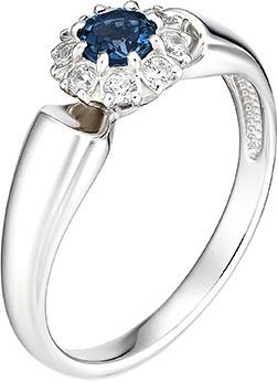 Кольца Алькор 01-0888/0NSL-00 женские кольца магия золота женское серебряное кольцо с куб циркониями mg99893z 18