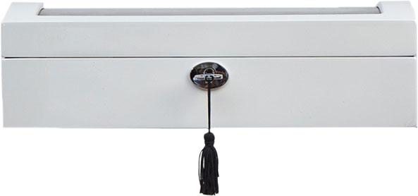 Шкатулки для украшений AllBox JB-3034-WHK