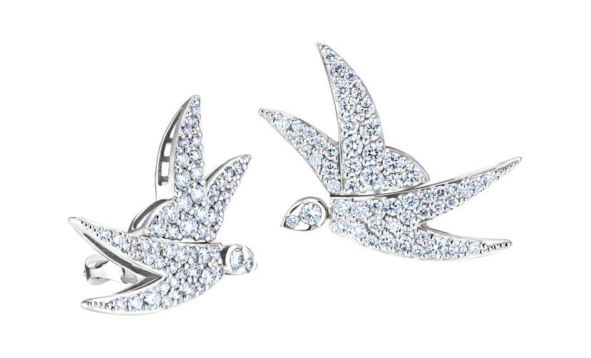 Серьги ALROSA DIAMONDS 9M301121S