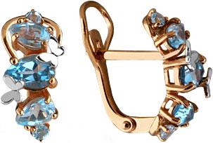Серьги Aquamarine 4471705-S-g-a серьги aquamarine 4469325 s a
